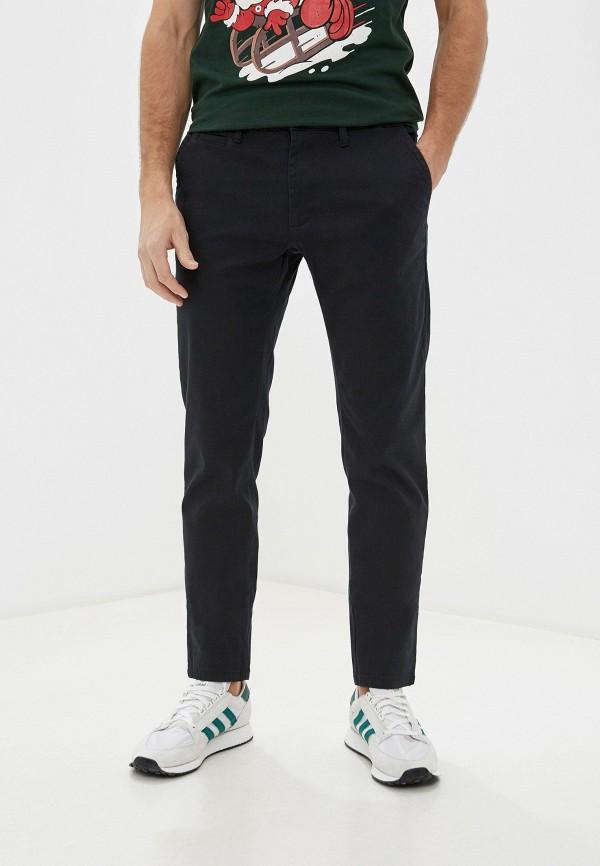 мужские прямые брюки j. hart & bros, черные