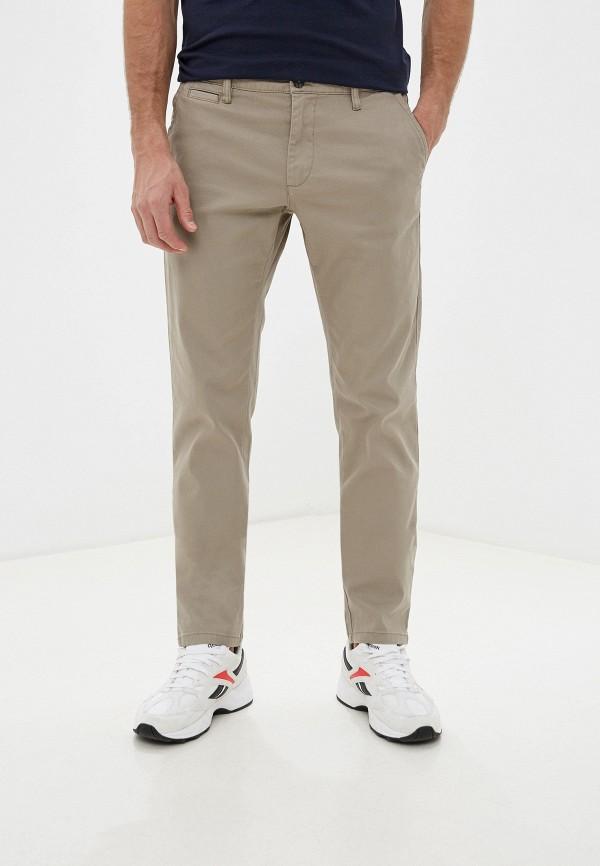 мужские прямые брюки j. hart & bros, бежевые