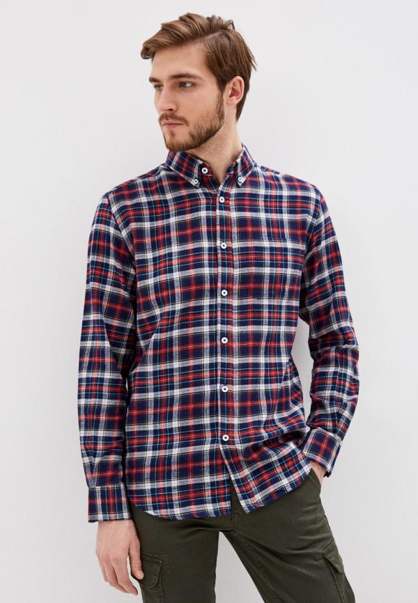 мужская рубашка с длинным рукавом j. hart & bros, разноцветная
