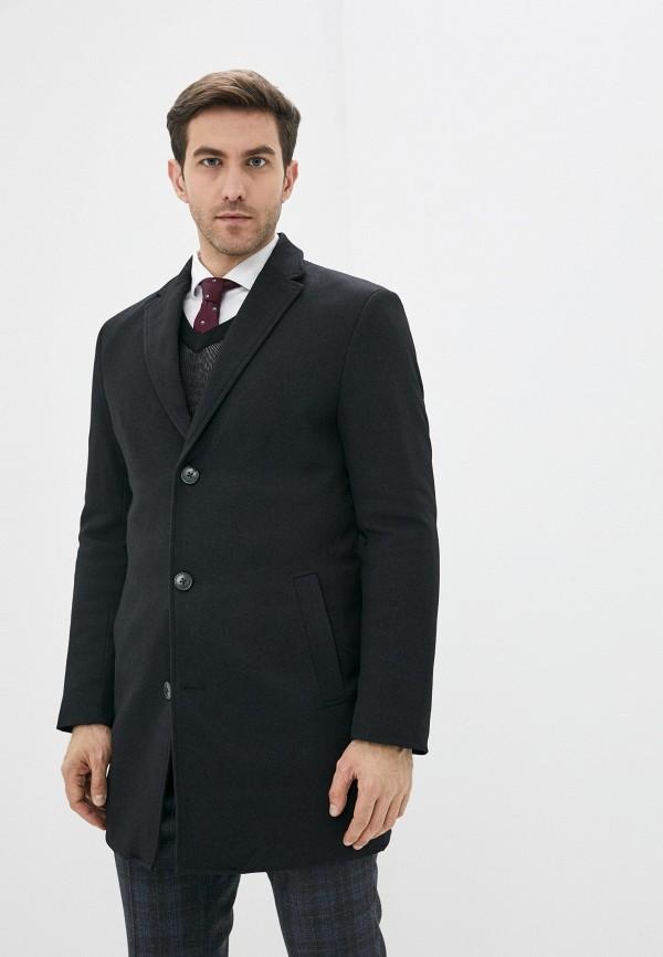 мужское пальто j. hart & bros, серое