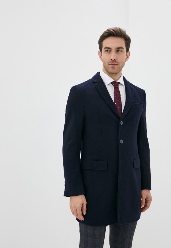 мужское пальто j. hart & bros, синее
