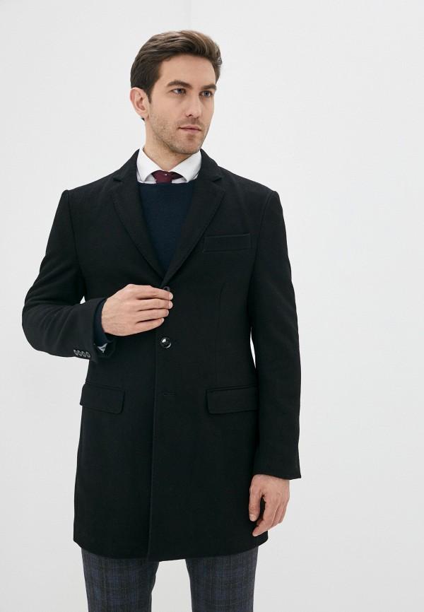 мужское пальто j. hart & bros, черное