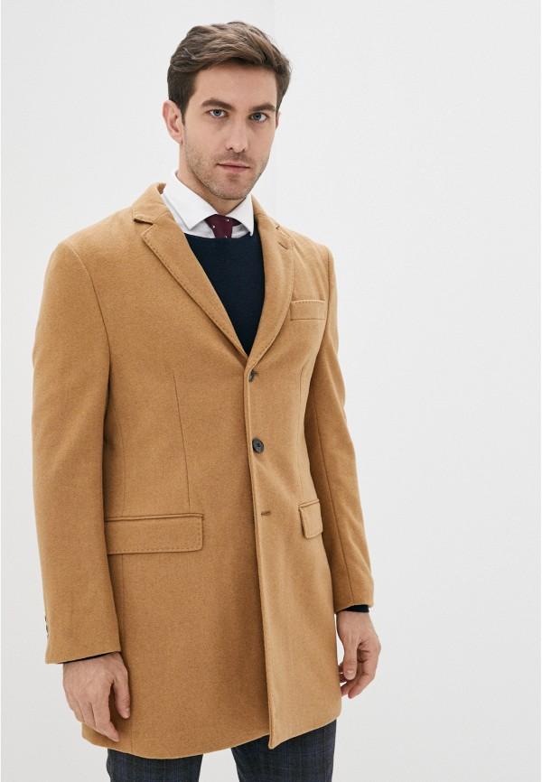 мужское пальто j. hart & bros, коричневое