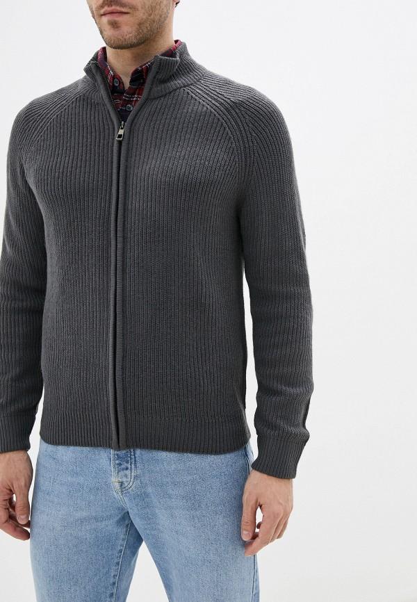 мужской свитер j. hart & bros, серый