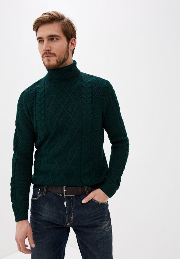 мужской свитер j. hart & bros, зеленый