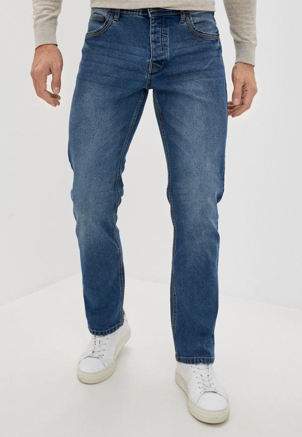мужские прямые джинсы j. hart & bros, голубые