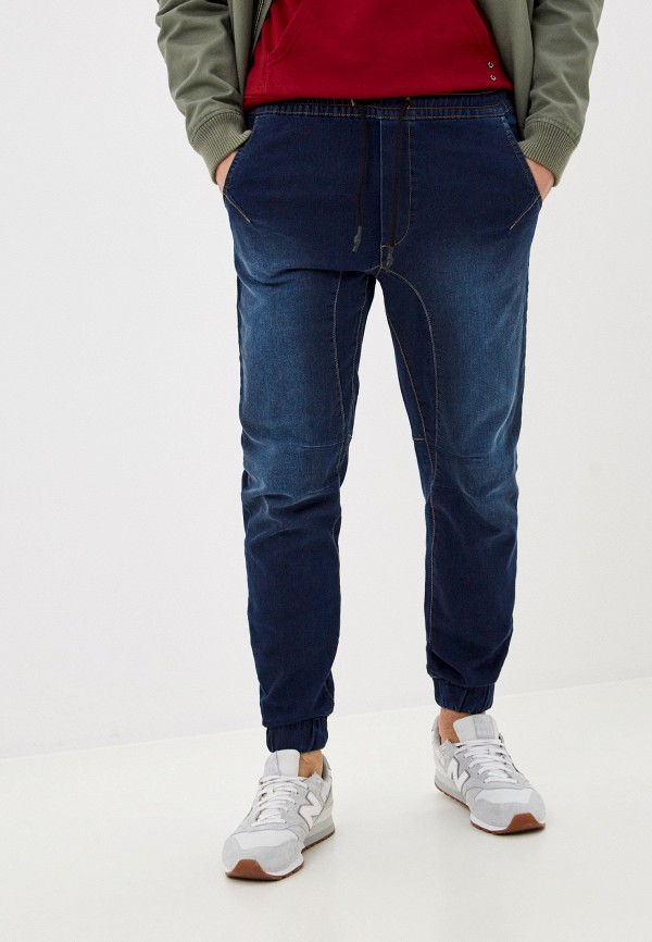 мужские зауженные джинсы j. hart & bros, синие