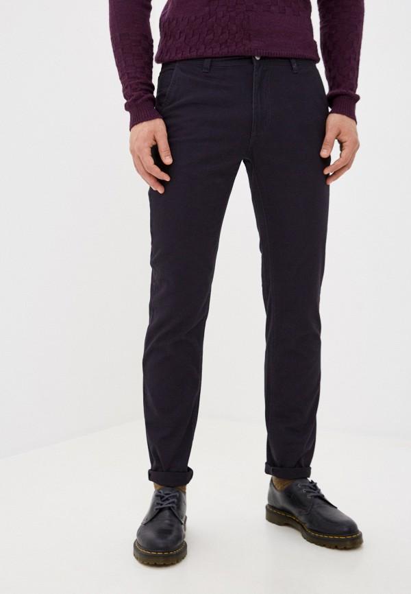 мужские зауженные брюки j. hart & bros, синие