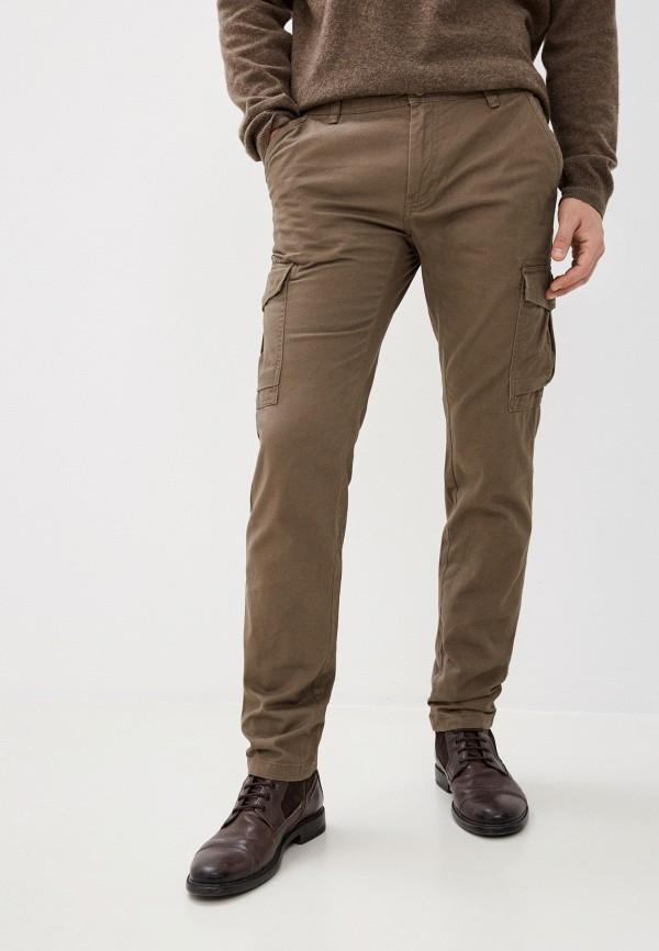 мужские брюки карго j. hart & bros, коричневые