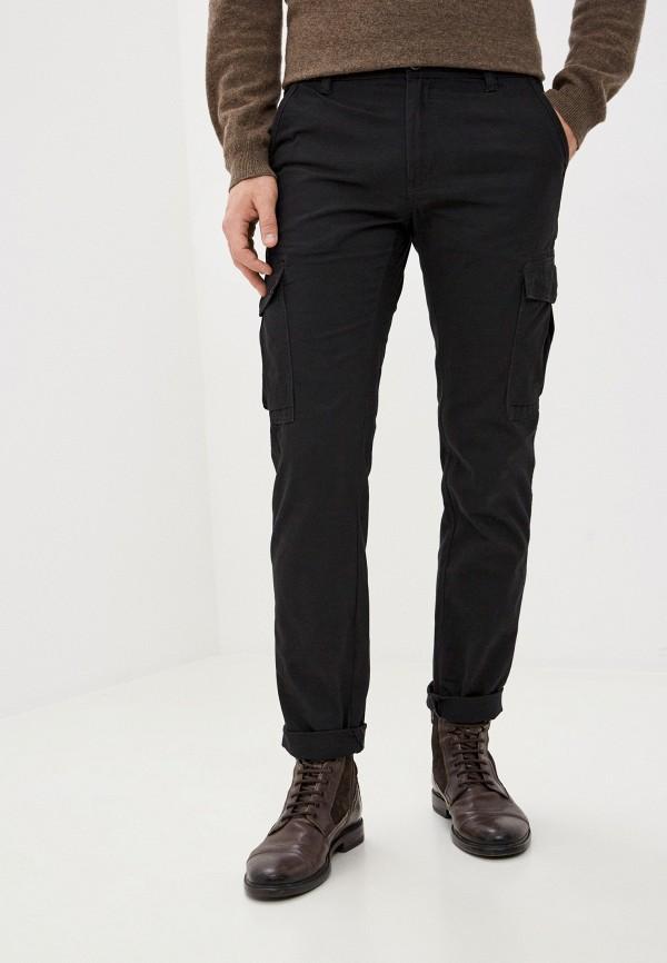 мужские брюки карго j. hart & bros, черные