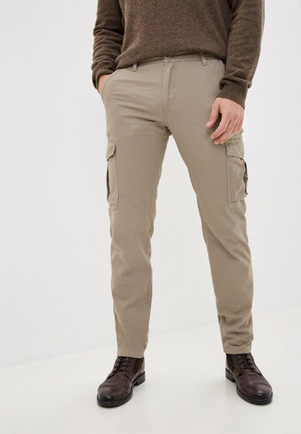 мужские брюки карго j. hart & bros, бежевые