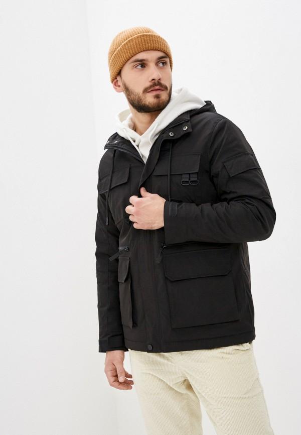 мужская куртка j. hart & bros, черная