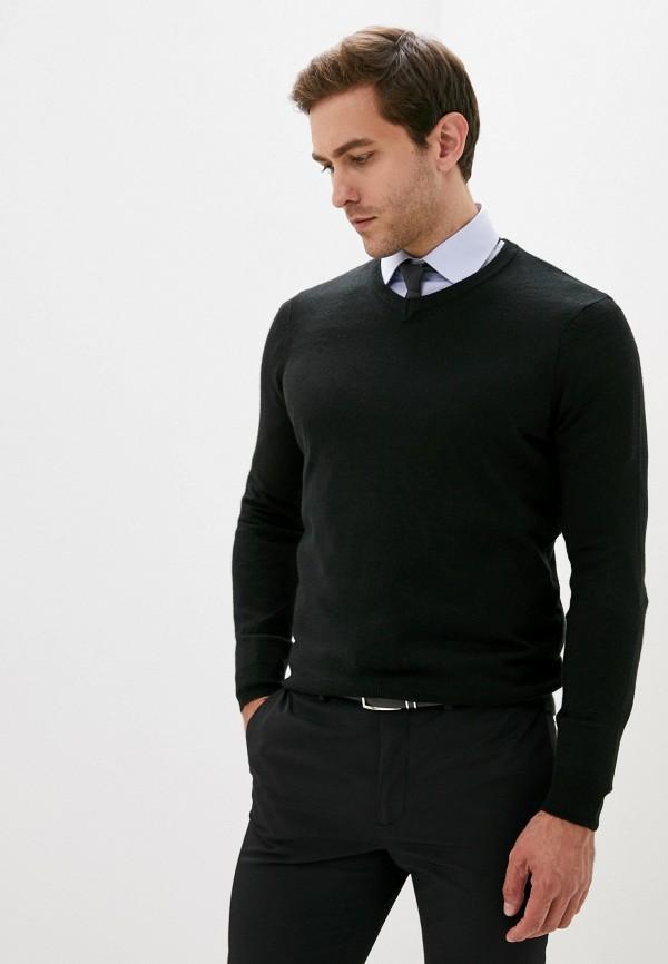 мужской пуловер j. hart & bros, черный