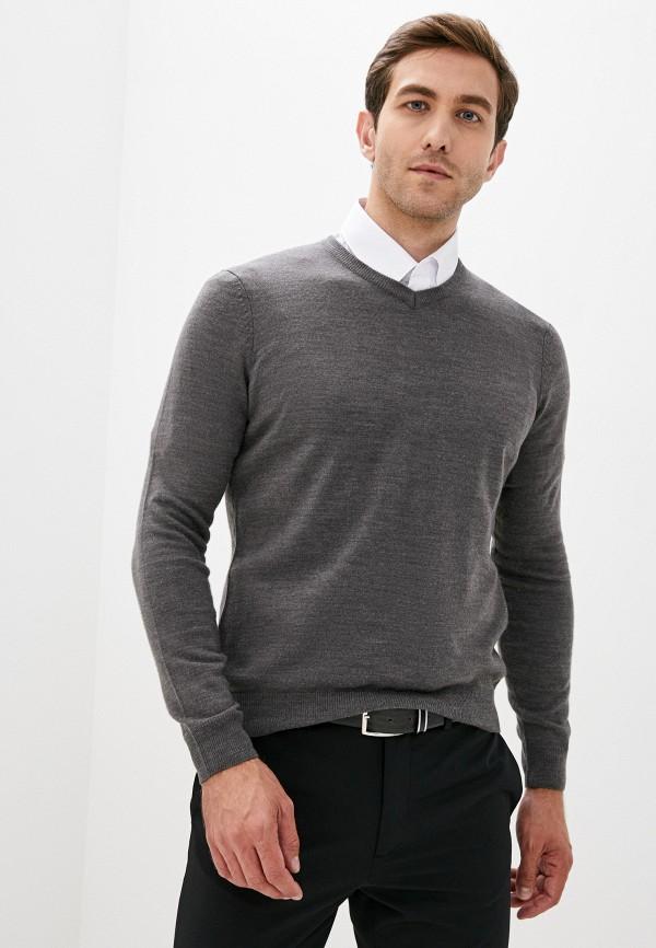 мужской пуловер j. hart & bros, серый