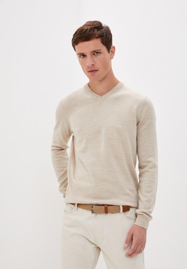 мужской пуловер j. hart & bros, бежевый