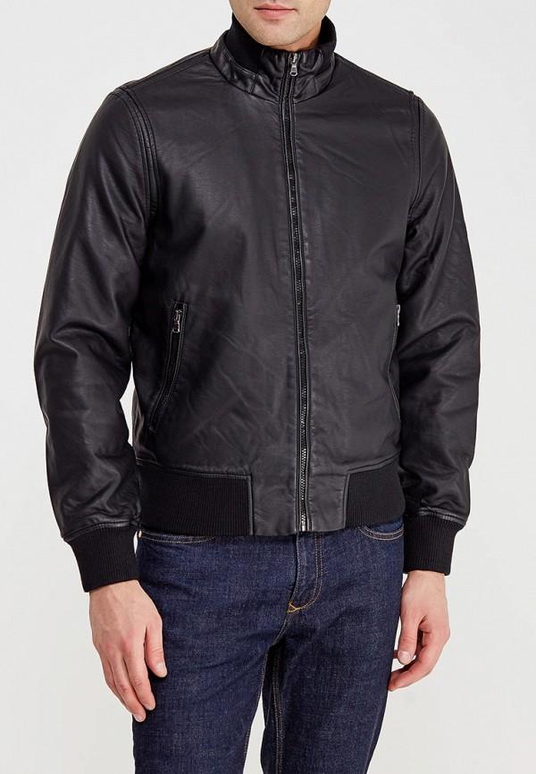 Купить Куртка кожаная J. Hart & Bros, jh001emvws90, черный, Осень-зима 2017/2018