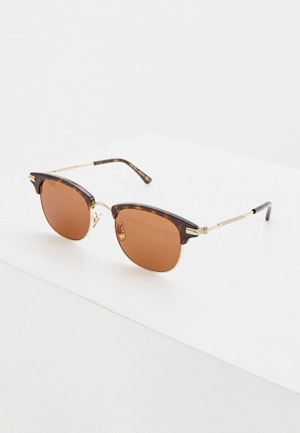 мужские солнцезащитные очки jimmy choo, коричневые