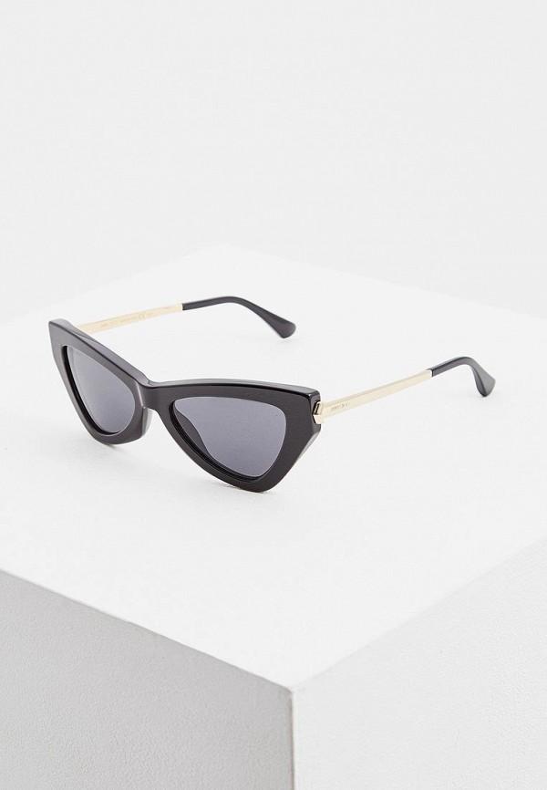женские солнцезащитные очки jimmy choo, серые