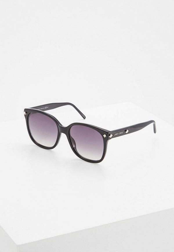 мужские солнцезащитные очки jimmy choo, черные