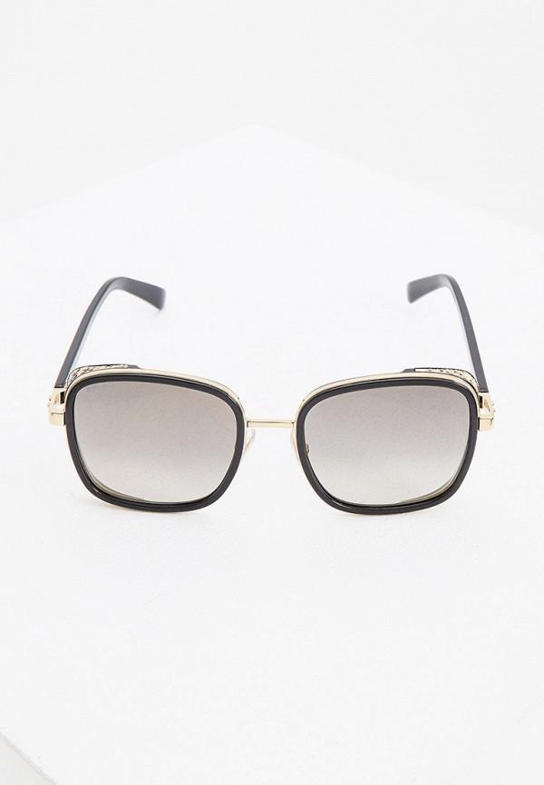 женские солнцезащитные очки jimmy choo, черные