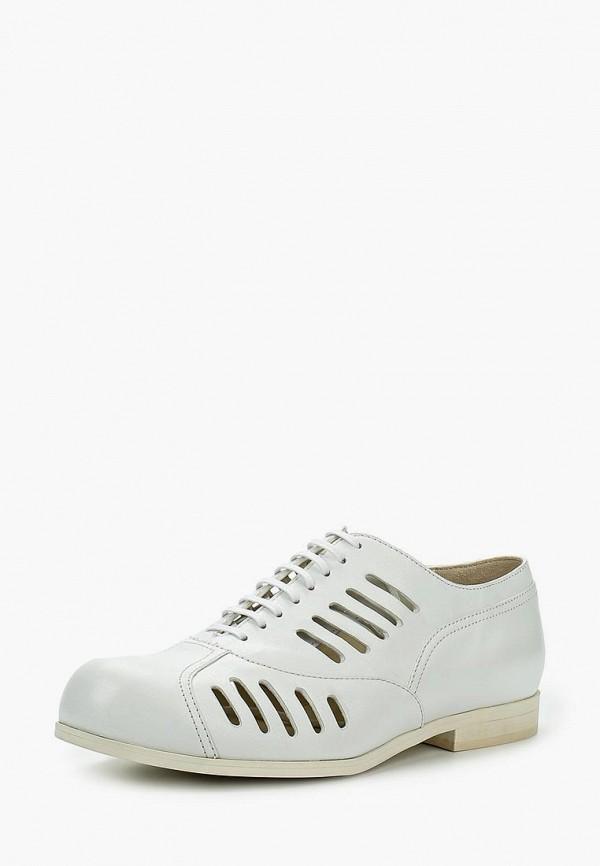 женские ботинки jil sander navy, белые
