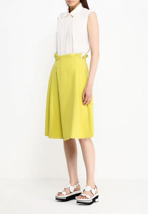 Фото 6 - женскую юбку Jil Sander Navy желтого цвета
