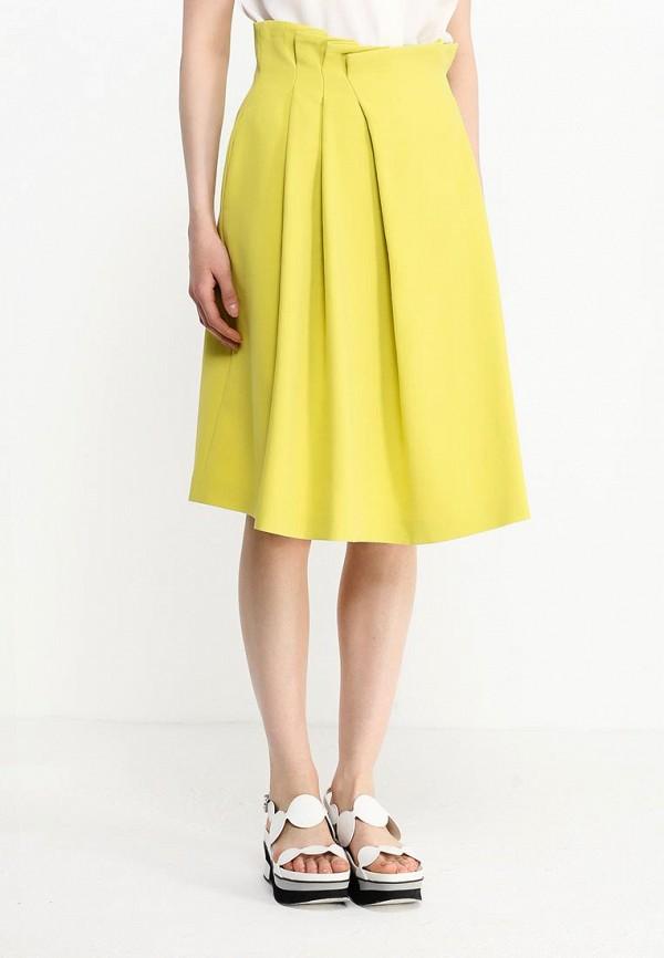 Фото 7 - женскую юбку Jil Sander Navy желтого цвета