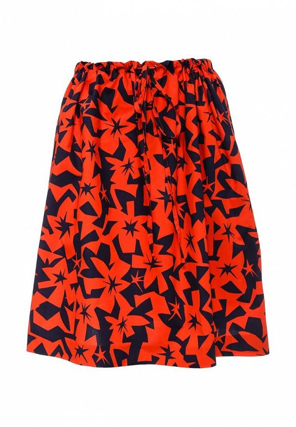 женская юбка jil sander navy, разноцветная