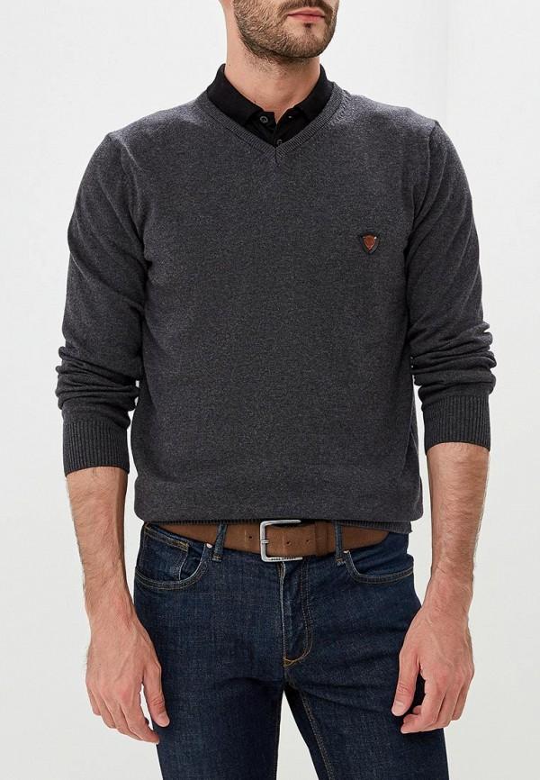 Купить Пуловер Jimmy Sanders, ji006emcipx3, серый, Осень-зима 2018/2019