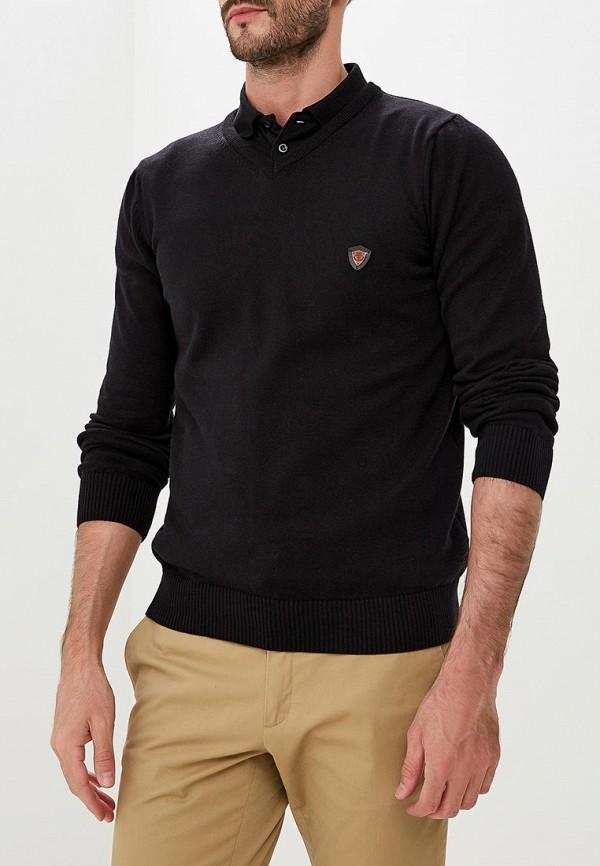 Купить Пуловер Jimmy Sanders, JI006EMCIPX6, черный, Осень-зима 2018/2019