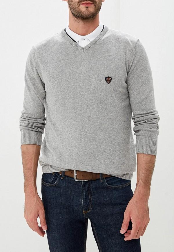 Купить Пуловер Jimmy Sanders, JI006EMCIPX8, серый, Осень-зима 2018/2019