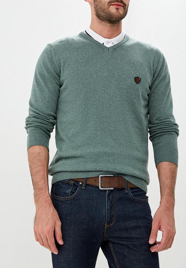 Пуловер Jimmy Sanders, JI006EMCIPX9, зеленый, Осень-зима 2018/2019  - купить со скидкой