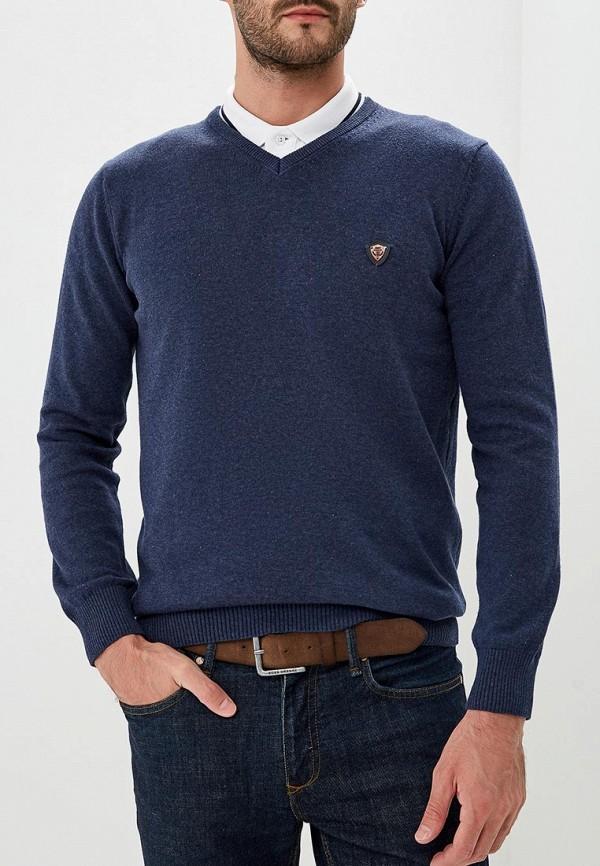 Купить Пуловер Jimmy Sanders, JI006EMCIPY0, синий, Осень-зима 2018/2019