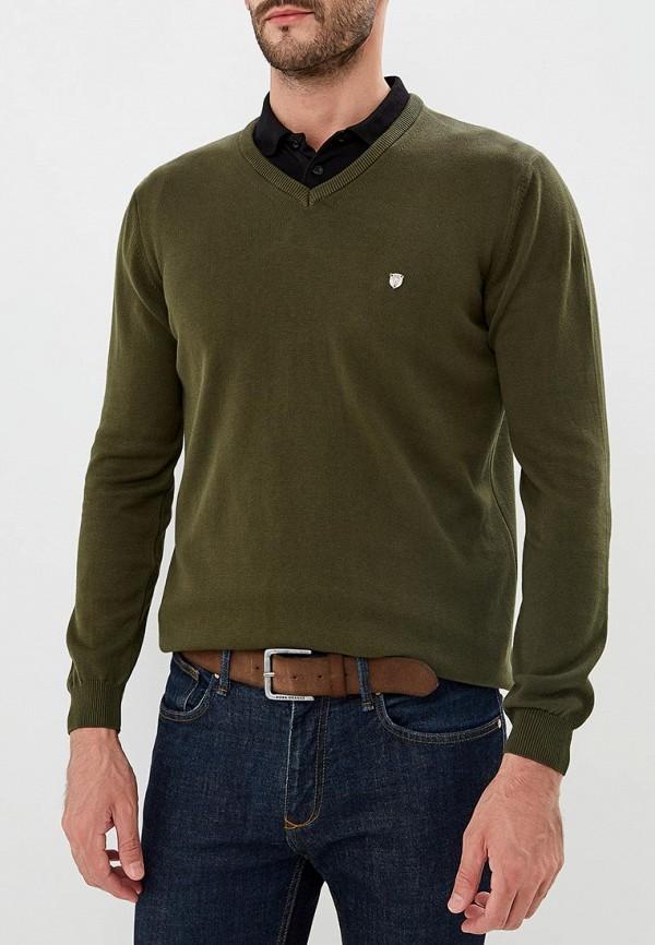 Пуловер Jimmy Sanders, ji006emciqb5, хаки, Осень-зима 2018/2019  - купить со скидкой