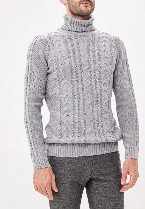 Купить Свитер Jimmy Sanders, JI006EMCIQC1, серый, Осень-зима 2018/2019