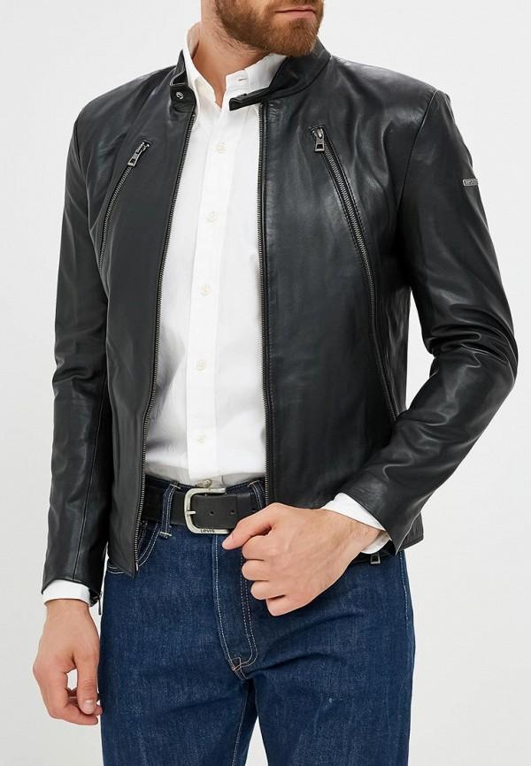 мужская куртка jimmy sanders, черная