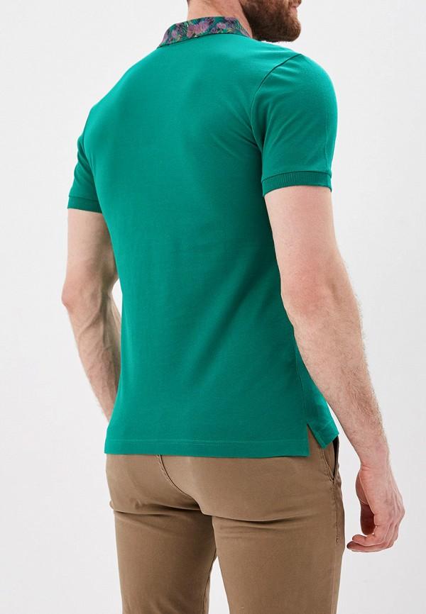 Фото 3 - Поло Jimmy Sanders зеленого цвета