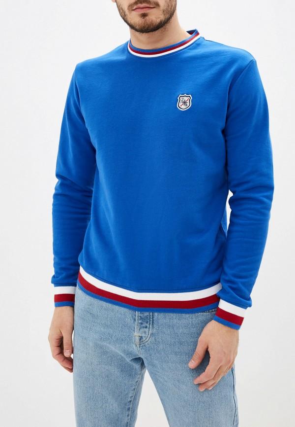 мужской свитшот jimmy sanders, синий
