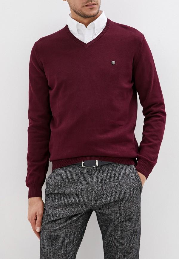 мужской пуловер jimmy sanders, бордовый