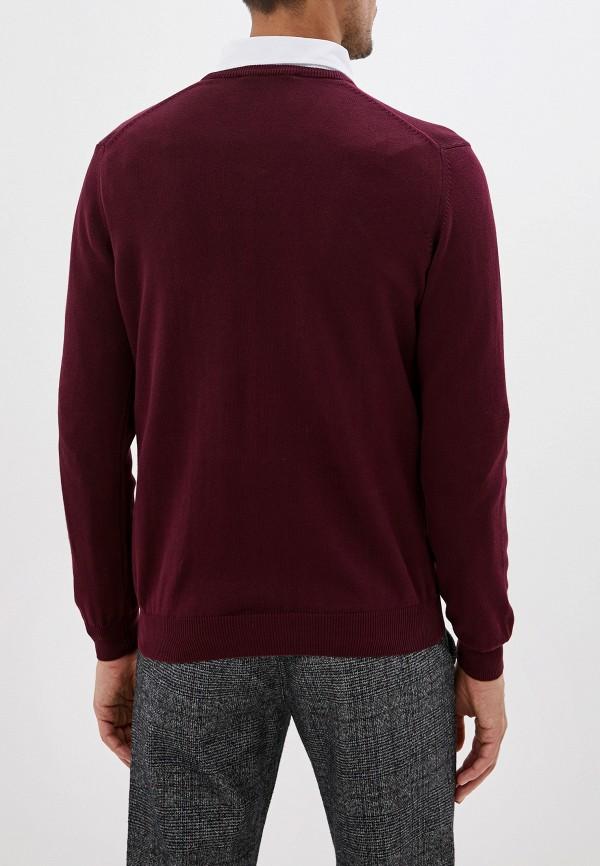 Фото 3 - Пуловер Jimmy Sanders бордового цвета