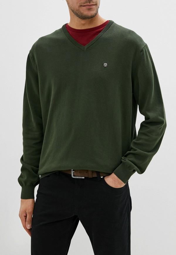 мужской пуловер jimmy sanders, хаки