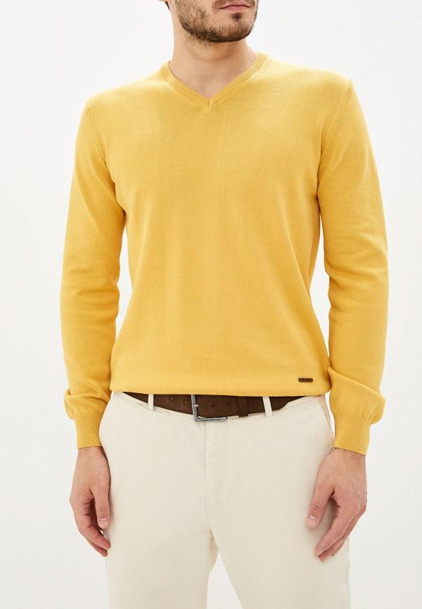 мужской пуловер jimmy sanders, желтый