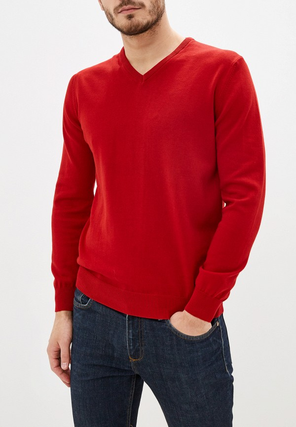 мужской пуловер jimmy sanders, красный