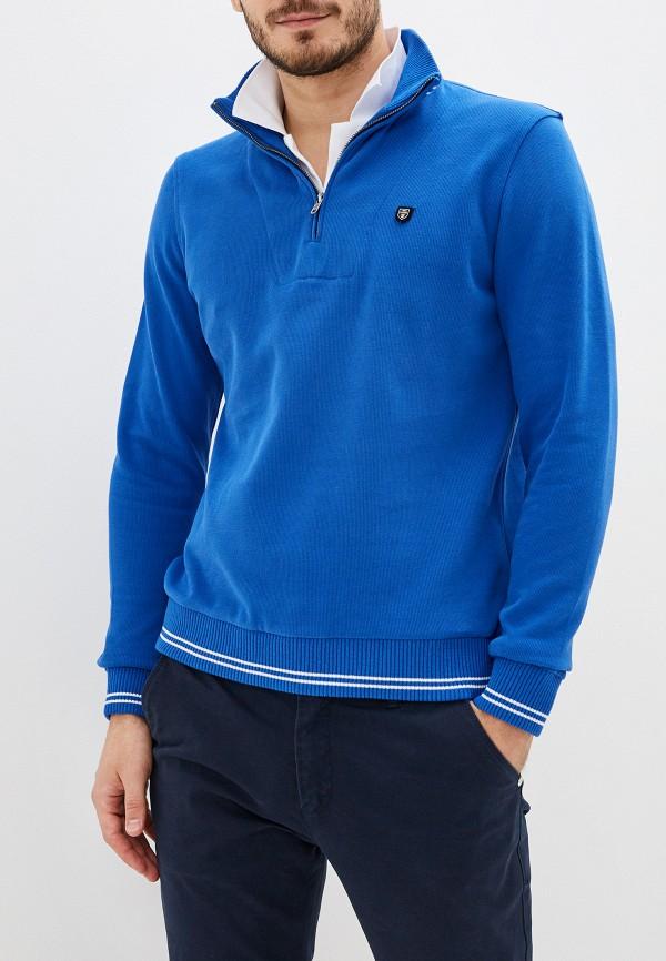 мужское поло jimmy sanders, синее