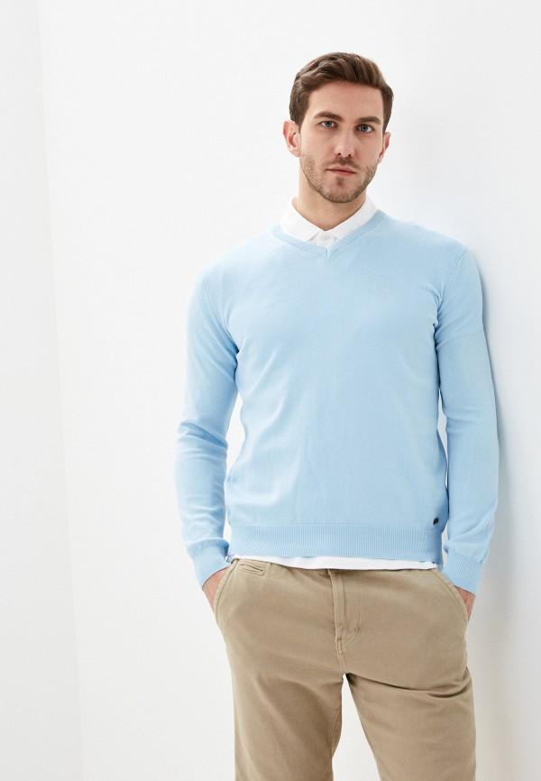 мужской пуловер jimmy sanders, голубой