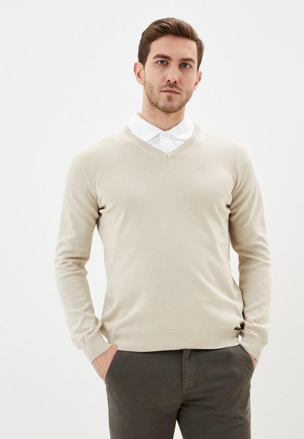 мужской пуловер jimmy sanders, бежевый