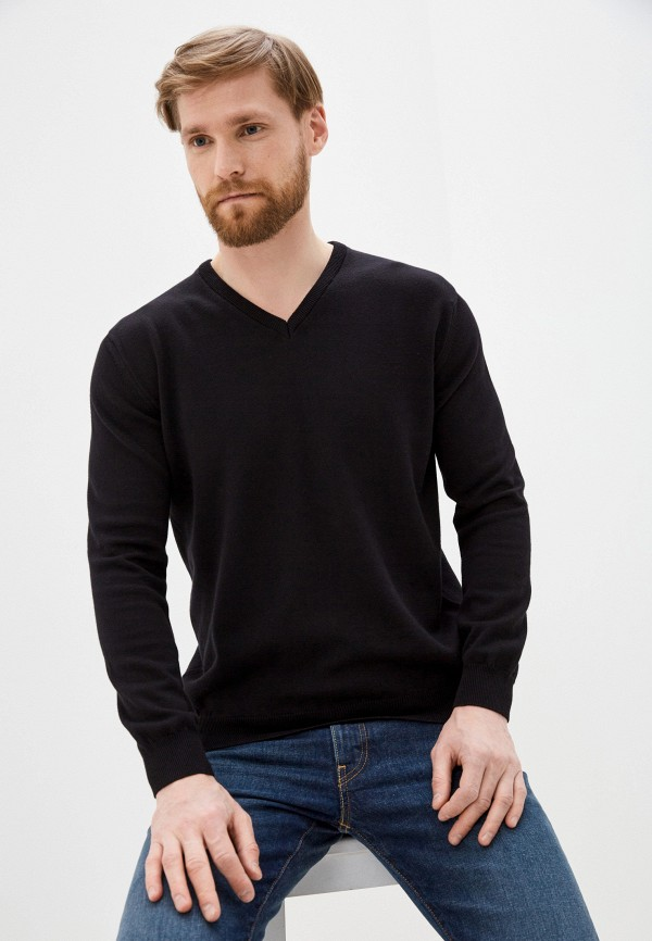 мужской пуловер jimmy sanders, черный