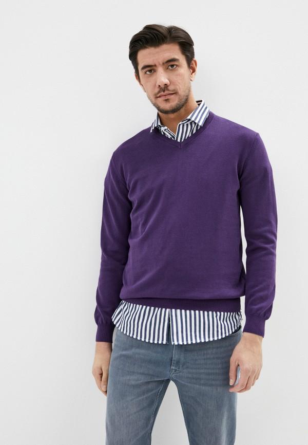 мужской пуловер jimmy sanders, фиолетовый