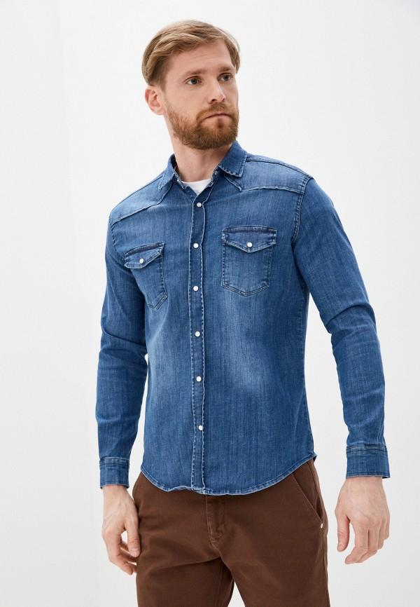 Рубашка джинсовая Jimmy Sanders Jimmy Sanders