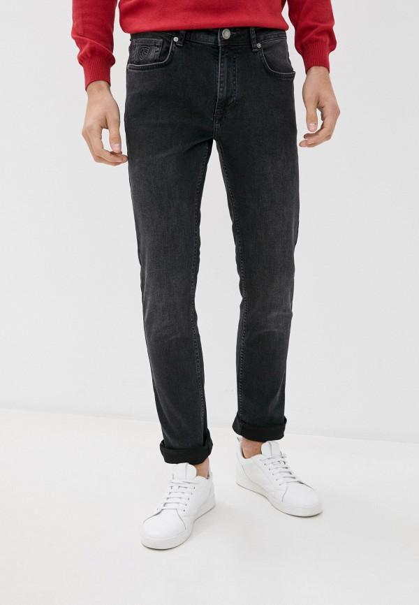 мужские зауженные джинсы jimmy sanders, серые
